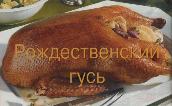рождественский гусь - журнал Лиза