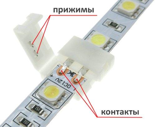 разъем для соединения светодиодной ленты (2)