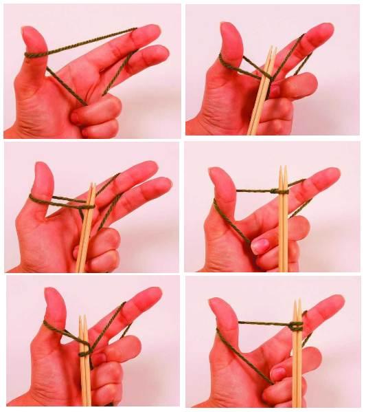 Набор петель - пошаговая инструкция